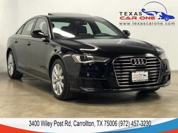 2016_Audi_A6_2.0T PREMIUM PLUS NAVIGATION SUNROOF LEATHER HEATED SEATS REAR C_ Carrollton TX