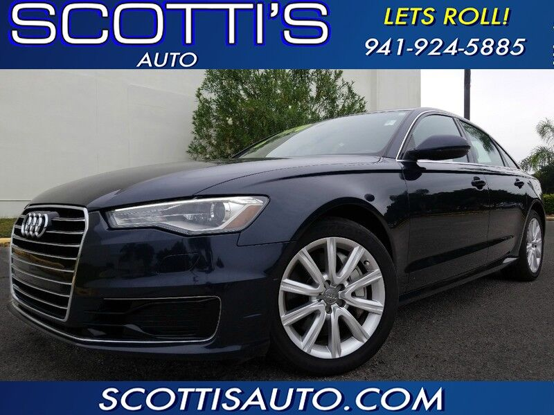 2016 Audi A6 2.0T Premium~ LOW MILES~ 1-OWNER~ CLEAN CARFAX~ FINANCE AVAILABL