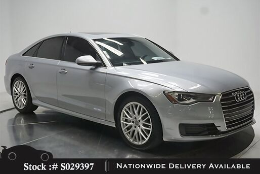 2016_Audi_A6_2.0T Premium SUNROOF,HTD STS,19IN WHLS,HID LIGHTS_ Plano TX