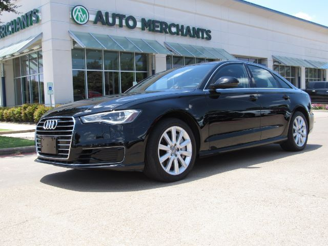 2016 Audi A6 2.0T Premium *Technology Package* LEATHER, SUNROOF, BACKUP CAMERA, HTD FRONT SEATS, KEYLESS START Plano TX