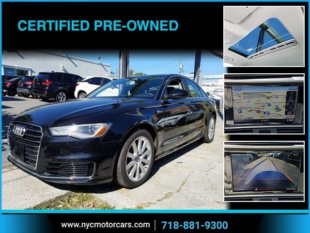 2016 Audi A6 3.0T Premium Plus Freeport NY