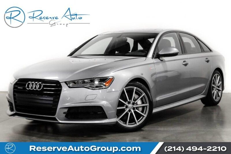 2016 Audi A6 3.0T Premium Plus S-Line Pkg Black Optic Pkg LED Headlights The Colony TX