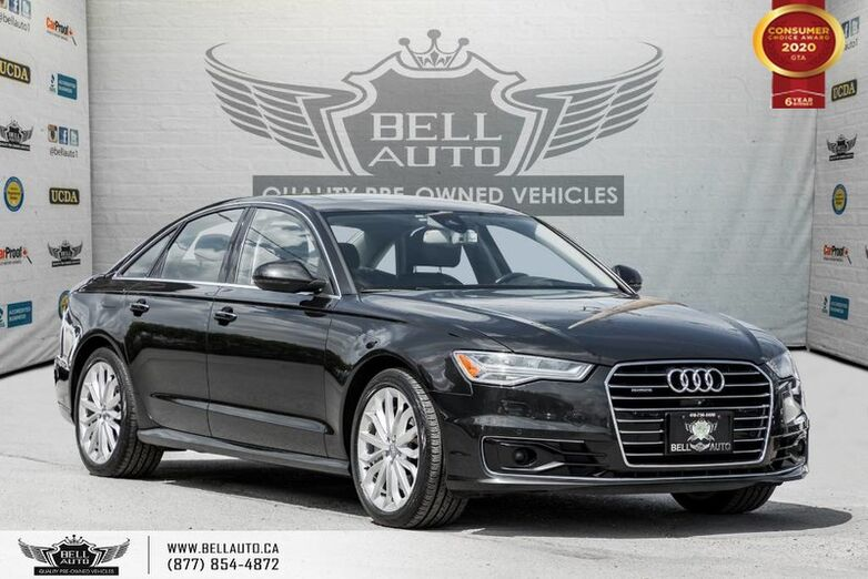 2016 Audi A6 3.0T Technik, NO ACCIDENT, AWD, NAVI, 360 CAM Toronto ON