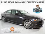 2016 Audi A6 Quattro 2.0T Premium Plus *S LINE SPORT PACKAGE, NAVIGATION, SIDE ASSIST, BACKUP-CAMERA, LEATHER, HEATED SEATS, MOONROOF, 20 INCH WHEELS, LED HEADLIGHTS