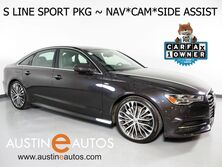 Audi A6 Quattro 2.0T Premium Plus *S LINE SPORT PACKAGE, NAVIGATION, SIDE ASSIST, BACKUP-CAMERA, LEATHER, HEATED SEATS, MOONROOF, 20 INCH WHEELS, LED HEADLIGHTS 2016