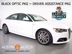 2016_Audi_A6 Quattro 3.0T Premium Plus_*S LINE SPORT PKG, DRIVER ASSISTANCE PKG, BLACK OPTIC PKG, NAVIGATION, ACTIVE LANE ASSIST, ADAPTIVE CRUISE, PRE SENSE, TOP VIEW CAMERAS, LED HEADLIGHTS_ Round Rock TX