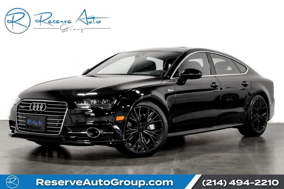 2016_Audi_A7_3.0 Prestige BOSE SOUND SYSTEM S LINE SPORT PACKAGE_ The Colony TX