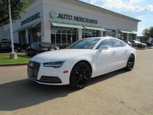 2016_Audi_A7_3.0T PREMIUM PLUS *COLD WEATHER PACKAGE* LEATHER, NAVIGATION, SUNROOF, FRT/RR HTD SEATS, BLIND SPOT_ Plano TX
