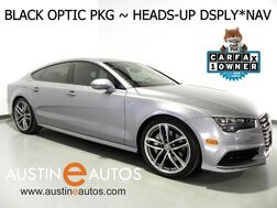 2016_Audi_A7 Quattro 3.0T Prestige_*BLACK OPTIC PKG, S LINE SPORT PKG, HEADS-UP DISPLAY, NAVIGATION, SIDE ASSIST, BACKUP-CAMERA, CLIMATE SEATS, BOSE AUDIO_ Round Rock TX