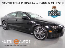 2016_Audi_A7 Quattro 3.0T Prestige_*HEADS-UP DISPLAY, BANG & OLUFSEN AUDIO, NAVIGATION, SIDE ASSIST, CLIMATE SEATS, LED HEADLIGHTS, BACKUP-CAMERA, 20 INCH WHEELS, MOONROOF_ Round Rock TX
