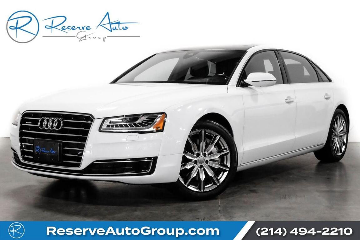 2016 Audi A8 L 3.0T Executive Pkg BlindSpot Monitor 20 Wheel Pkg The Colony TX