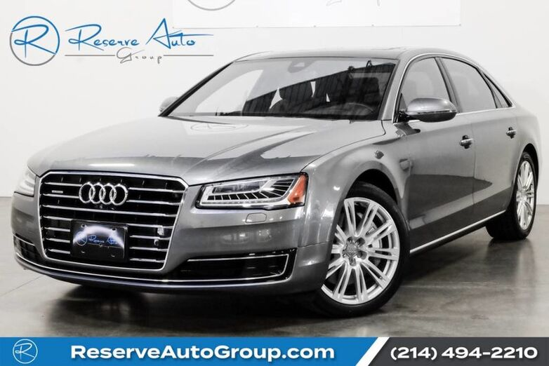 2016 Audi A8 L 3.0T Executive Pkg Polished Wheel Pkg The Colony TX