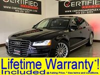 Audi A8 L 3.0T QUATTRO HEADSUP DISPLAY BLIND SPOT ASSIST NAVIGATION PANORAMIC ROOF LE 2016