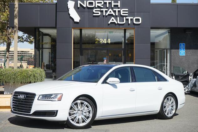 2016_Audi_A8 L_3.0T_ Walnut Creek CA