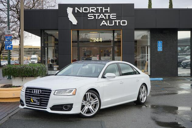2016_Audi_A8 L_4.0T Sport_ Walnut Creek CA