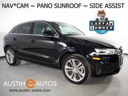 2016_Audi_Q3 2.0T Premium Plus_*NAVIGATION, SIDE ASSIST, BACKUP-CAMERA, PANORAMA MOONROOF, LEATHER, HEATED SEATS, ADVANCED KEY, 19 INCH WHEELS, BLUETOOTH_ Round Rock TX