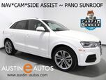 2016 Audi Q3 2.0T Premium Plus *NAVIGATION, SIDE ASSIST, BACKUP-CAMERA, PANORAMA MOONROOF, LEATHER, HEATED SEATS, POWER LIFTGATE, BLUETOOTH PHONE & AUDIO