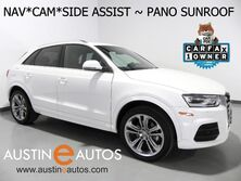Audi Q3 2.0T Premium Plus *NAVIGATION, SIDE ASSIST, BACKUP-CAMERA, PANORAMA MOONROOF, LEATHER, HEATED SEATS, POWER LIFTGATE, BLUETOOTH PHONE & AUDIO 2016