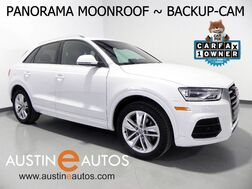 2016_Audi_Q3 2.0T Premium Plus_*PANORAMA MOONROOF, BACKUP-CAMERA, LEATHER, HEATED SEATS, ADVANCED KEY, POWER LIFTGATE, BLUETOOTH_ Round Rock TX