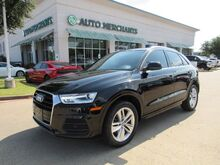 2016_Audi_Q3_Premium Plus LEATHER, BACKUP CAMERA, HTD FRONT STS, PUSH BUTTON START, PANORAMIC SUNROOF, BLUETOOTH_ Plano TX