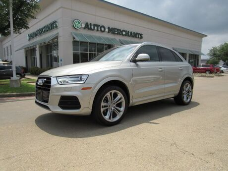 2016 Audi Q3 Premium Plus *TECHNOLOGY PACKAGE* LEATHER, SUNROOF, PARKING SENSORS, BLIND SPOT MONITOR Plano TX