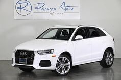 2016 Audi Q3 Premium Plus Technology Pkg Navigation Blind Spot Asst