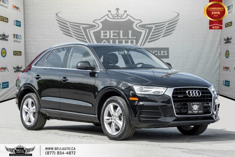 2016 Audi Q3 Progressiv, AWD, NO ACCIDENT, NAVI, PANO ROOF, LEATHER Toronto ON