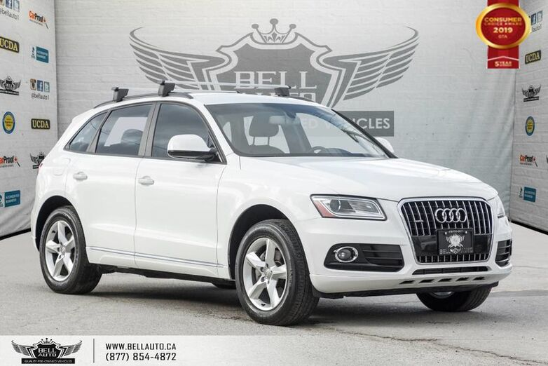 2016 Audi Q5 2.0T Komfort, NO ACCIDENT, AWD, BLUETOOTH, PUSH START Toronto ON