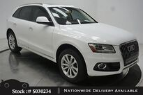 Audi Q5 2.0T Premium NAV,PANO,HTD STS,18IN WLS,HID LIGHTS 2016