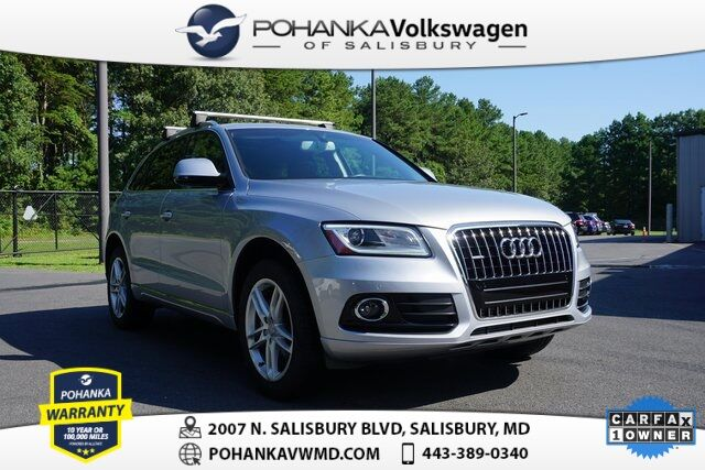 2016 Audi Q5 >> 2016 Audi Q5 2 0t Premium Plus Quattro Luxury Clean Carfax One Owner