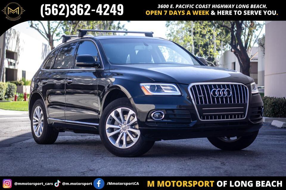 2016_Audi_Q5_2.0T Premium Sport Utility 4D_ Long Beach CA