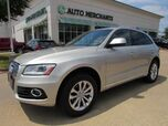 2016 Audi Q5 2.0T Premium quattro LEATHER, NAVIGATION, PANORAMIC ROOF, CLIMATE CONTROL, WIFI HOTSPOT, TPMS