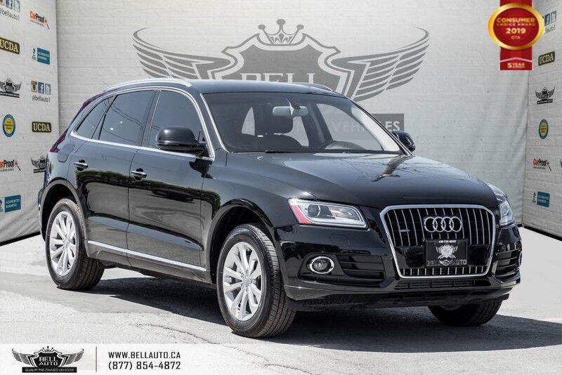 2016 Audi Q5 2.0T Progressiv, NO ACCIDENT, AWD, PANO ROOF, PUSH START, HEATED SEAT