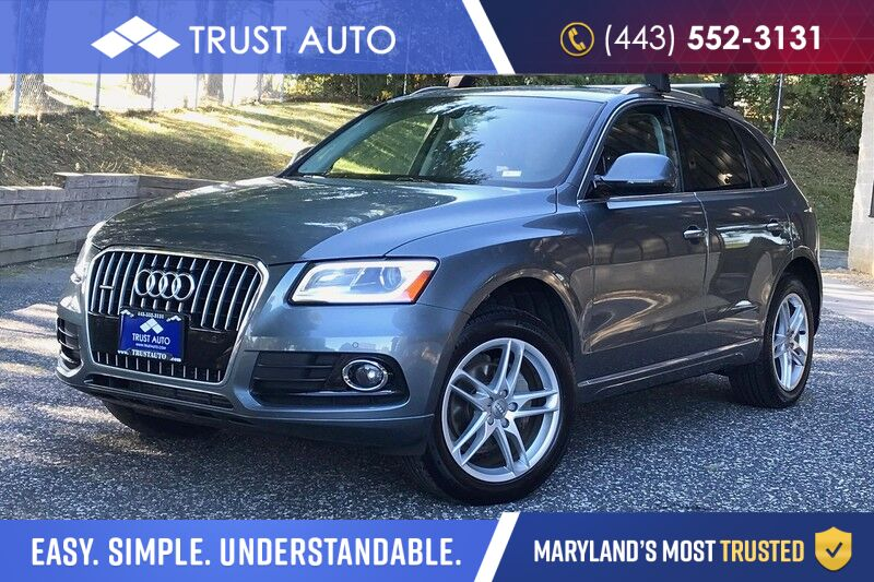 2016 Audi Q5 2.0T Quattro Premium Plus AWD Luxury SUV Fully Loaded