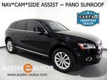2016 Audi Q5 Quattro 2.0T Premium Plus *NAVIGATION, SIDE ASSIST, BACKUP-CAM, PANORAMA MOONROOF, BANG & OLUFSEN, LEATHER, ADVANCED KEY, BLUETOOTH PHONE & AUDIO