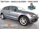 2016 Audi Q5 Quattro 2.0T Premium Plus *NAVIGATION, SIDE ASSIST, BACKUP-CAMERA, PANORAMA MOONROOF, BANG & OLUFSEN, LEATHER, 19 INCH WHEELS, ADVANCED KEY, BLUETOOTH