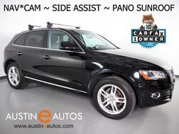 2016_Audi_Q5 Quattro 2.0T Premium Plus_*NAVIGATION, SIDE ASSIST, BACKUP-CAMERA, PANORAMA MOONROOF, BANG & OLUFSEN, LEATHER, 19 INCH WHEELS, ADVANCED KEY, BLUETOOTH_ Round Rock TX