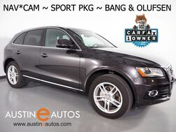 2016_Audi_Q5 Quattro 2.0T Premium Plus_*NAVIGATION, SIDE ASSIST, BACKUP-CAMERA, SPORT SEATS, PANORAMA MOONROOF, BANG & OLUFSEN, LEATHER, 19 INCH WHEELS, ADVANCED KEY, BLUETOOTH_ Round Rock TX