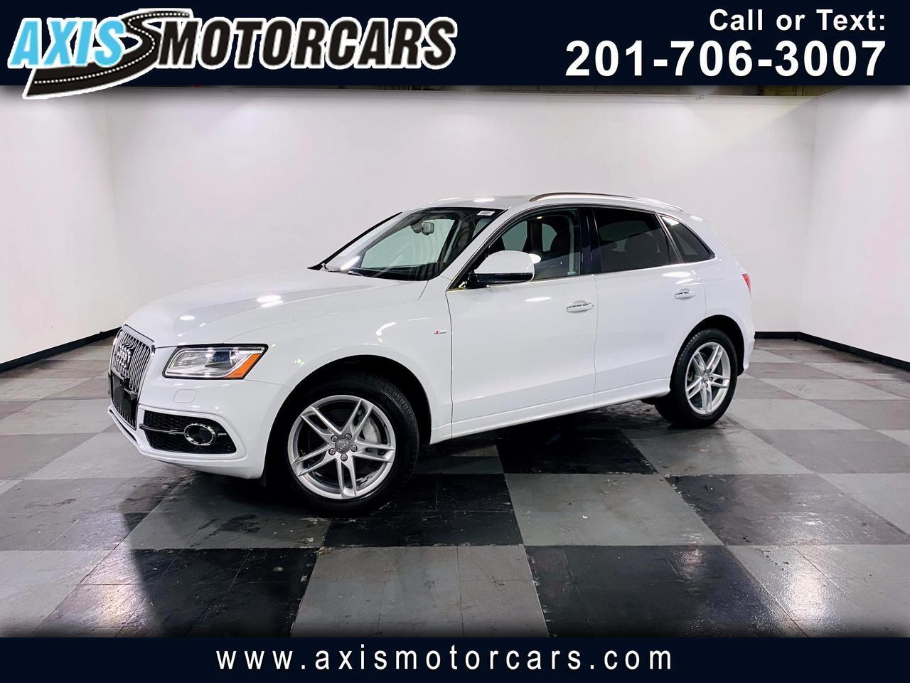 2016 Audi Q5 quattro 4dr 3.0T Premium w/Backup Camera Navigatio Jersey City NJ