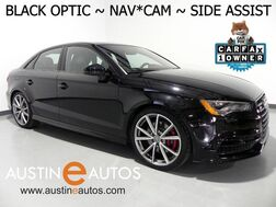 2016_Audi_S3 Premium Plus_*BLACK OPTIC PERFORMANCE PKG, NAVIGATION, S SPORT SEATS, SIDE ASSIST, BANG & OLUFSEN, LED LIGHTING PKG_ Round Rock TX