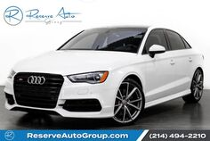 2016 Audi S3 Premium Plus BLACK OPTIC PERFORMANCE PKG