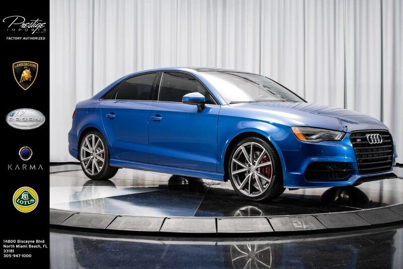 2016_Audi_S3_Premium Plus_ North Miami Beach FL