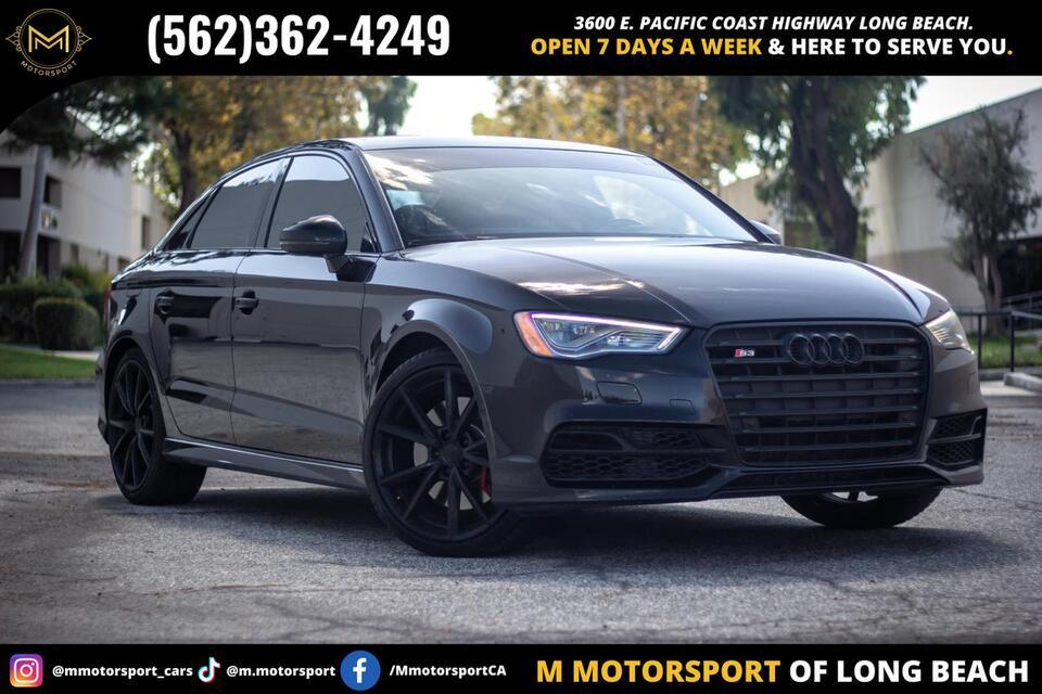 2016_Audi_S3_Premium Plus Sedan 4D_ Long Beach CA