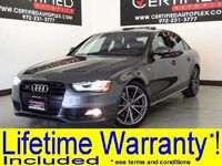 Audi S4 3.0T QUATTRO SUPERCHARGED PREMIUM PLUS TECHNOLOGY PKG BLACK OPTIC PKG 2016
