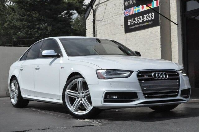2016 Audi S4 Premium Plus/Quattro/Supercharged 3.0 Liter 333 HP/Sport Differential w/ Audi Drive Select/Technology Package w/ MMI Navigation, Side Assist, Rear-View Camera/Bang & Olufsen Audio/Heated Seats/LEDs Nashville TN