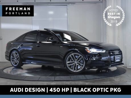 2016 Audi S6 Audi Design Interior Black Optic Pkg 450 HP Portland OR