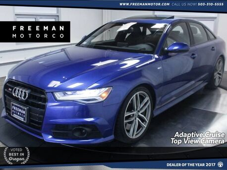 2016_Audi_S6_Prestige Quattro Adaptive Cruise Top View Cam_ Portland OR