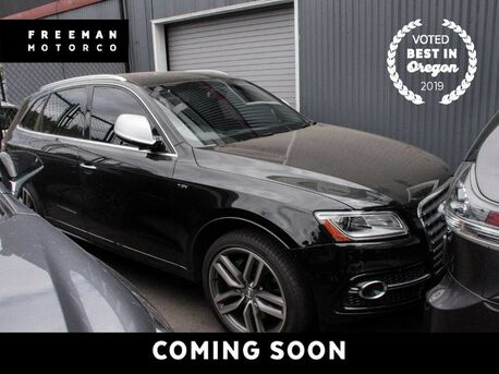2016_Audi_SQ5_Diamond Stitch Nappa Leather Pkg Tech Pkg_ Portland OR