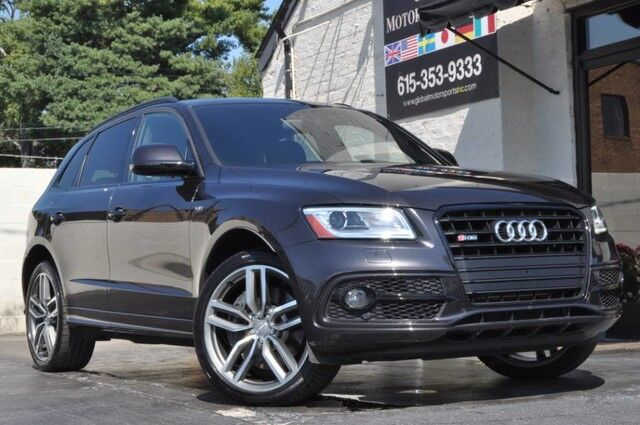 2016 Audi SQ5 Premium Plus/Quattro/Tech Pkg w/ MMI Navigation Plus, Side Assist, Parking System Plus w/ Rear View Camera/Xenon Plus Headlights w/ LEDs/Heated Front Seats/Push-To-Start/Panoramic Roof/21'' Wheels Nashville TN