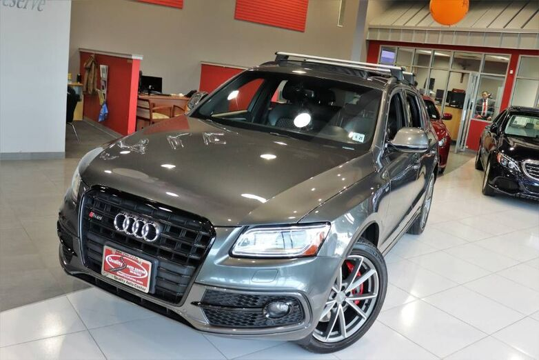 2016 Audi SQ5 Premium Plus Technology Fine Napa Leather Package 1 Owner Springfield NJ